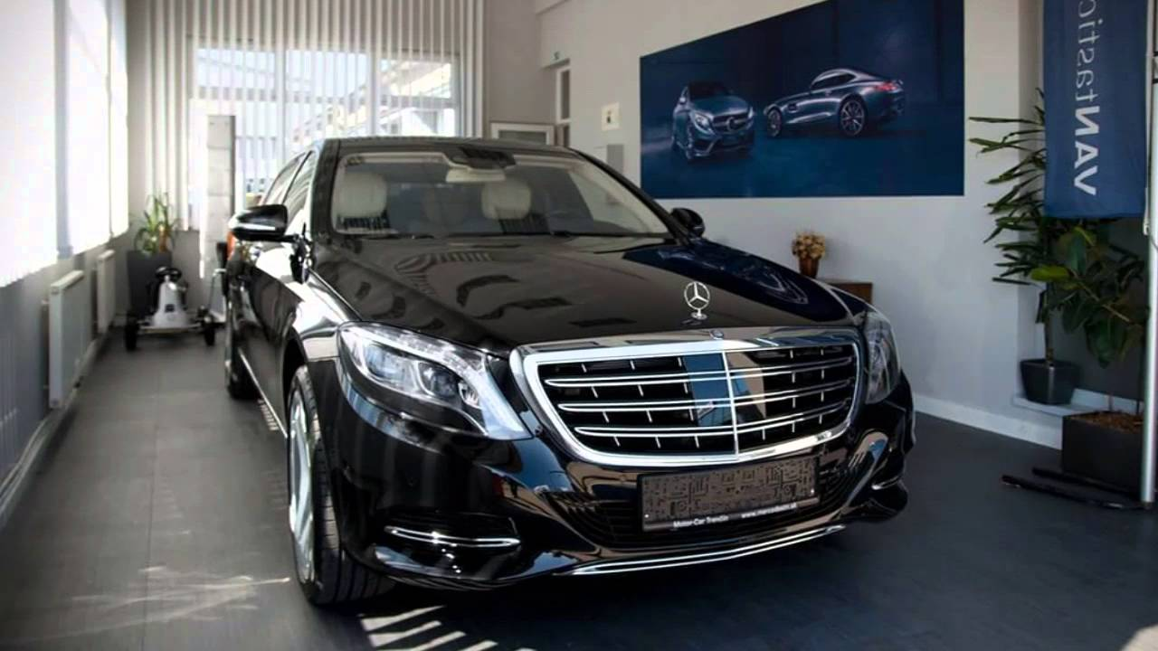 Mercedes Maybach S600 2017 Paulight Group