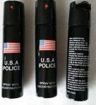 USA Best Quality Police Pepper Spray for Self Defense